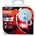 Set 2 becuri Osram Night Breaker Laser H4 12V, 60/55W, +130% mai multa lumina