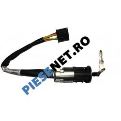 Contact Pornire Logan Cu 2 Chei, Original Renault 487004353R   6001546809