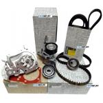 Pachet Distributie Complet Logan 1.4, 1.6 MPI Cu A.C Cu Servo, Original Dacia-Renault
