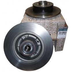 Disc Frana Spate Cu Rulment Si Senzor ABS Megane 2 | Scenic 2, Original Renault 7701207898 -SET-