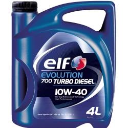 Ulei motor Elf Evolution 700 Turbo Diesel, 10W40, 4L